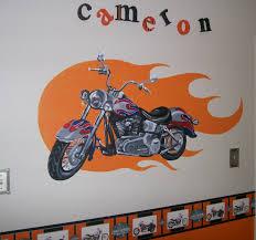 motorcycle murals