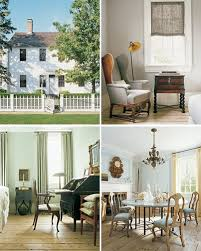 colonial home decorating