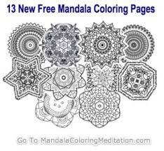 mandalas coloring books
