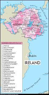 ireland tourism map