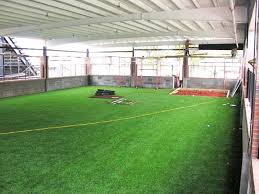 indoor baseball field