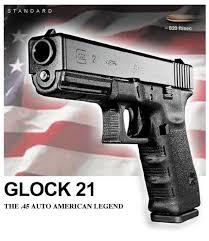 glock 21 pistol