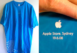 apple store t shirt