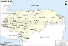 honduras geographical features