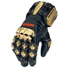 icon bling gloves