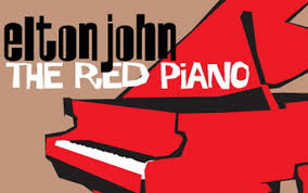 elton john the red piano