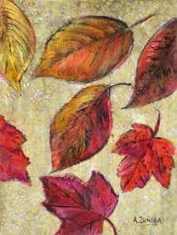 drawings of leaves