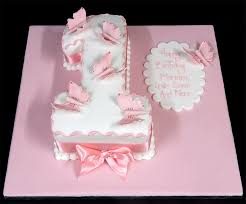 birthday cakes butterflies