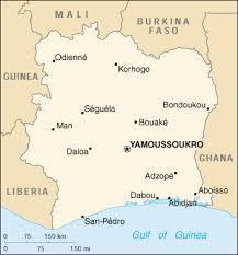 geography of ivory coast