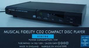 musical fidelity cd2