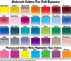 color chart paint