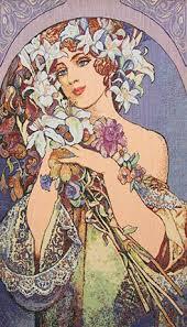 art nouveau painting