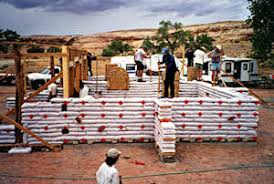 earth bag building