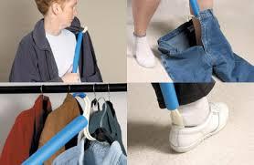 dressing aid