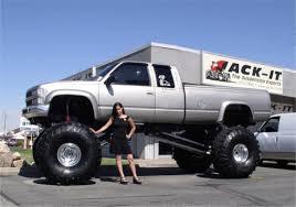 big lifted chevy trucks