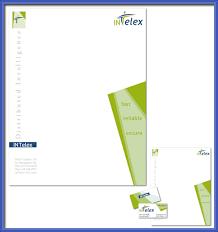 business letterhead designs
