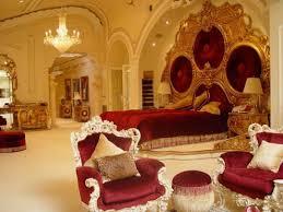 golden bedroom