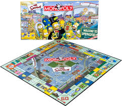 monopoly simpsons edition