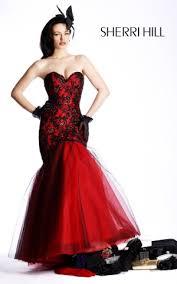 black pageant dresses