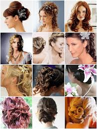 bride flower hair