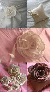 hand made silk flowers
