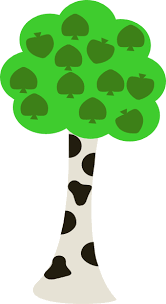 birch tree clip art