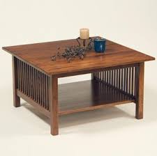 arts and crafts coffee table