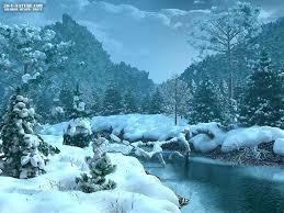 عکس زیبا و رویایی زمستان