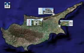 google map of cyprus