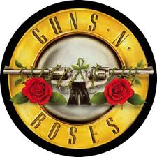 guns n roses stickers