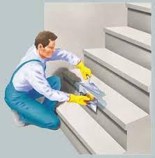 escaleras de cemento