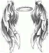 free angel tattoo design
