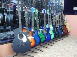 music instruments guitars