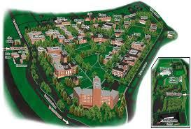 radford university map
