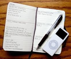 moleskine monthly notebooks