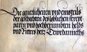 manuscript font