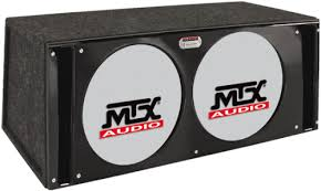 mtx subwoofer boxes