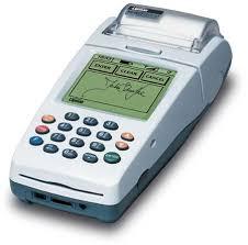 credit card swiping machine