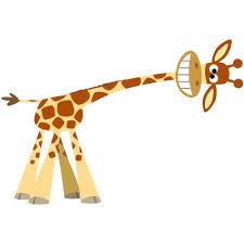 giraffe cut out