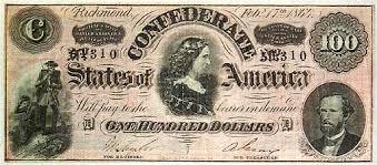 confederate bills