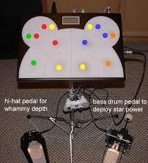guitar hero drum pad