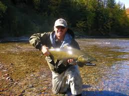 salmon flyfishing
