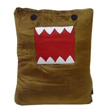 domo kun pillow