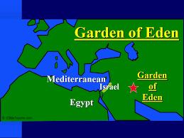 location of garden of eden