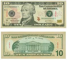10 dollar bill picture