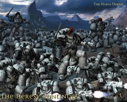 horus heresy art