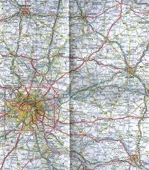 ireland road maps