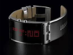 diesel led watch