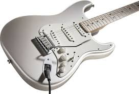 fender strat electric guitars