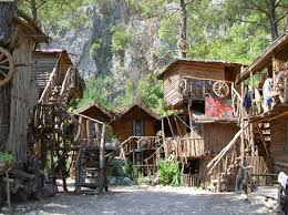 olympos tree houses